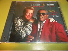 Anson Funderburgh Sam Myers That's What They Want CD *SEALED*
