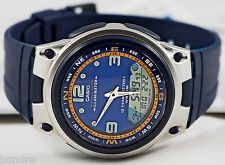 Casio AW82-2AV Fishing Timer Moon Data Watch Resin Band 10 Year Battery New