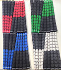 NEW Multi compound golf grips red blue white yellow green black half cord pick