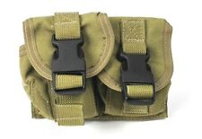 Eagle Allied Industries DGLCS Double Grenade Pouch Khaki MLCS MBSS NSW NAVY SEAL