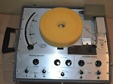 Vintage Hilton AC-300 Solid State Record Player Turntable - SEE VIDEO