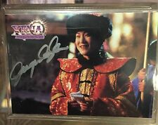 Xena Series 2 Complete base card set 72 with Jacqueline Kim / Lao Ma autograph