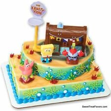 SPONGEBOB Patrick Cake Birthday Party Decoration Ocean Favors House Jumbo Kraby