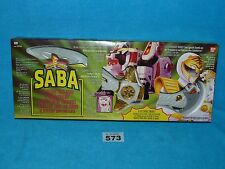 POWER RANGERS MIGHTY MORPHIN POWER WHITE TIGER SABA BRAND NEW