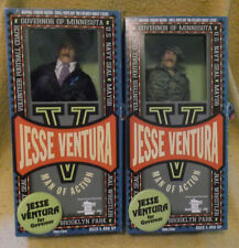 Jesse Ventura Man of Action,  Governor &  Navy Seal Action Figures w/ Box