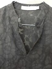 Top Vintage Negro Tamaño 8 y bombilla falda traje muy Cheong sam Estilo