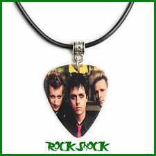 Green Day Guitar Pick Necklace Pendant Plectrum Punk Rock American Band Offer