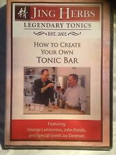 HOW TO CREATE YOUR OWN TONIC BAR DVD