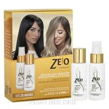 Zelo Professional Brazilian Keratin Hair Smoothing System FRIZZ & CURL CONTROL