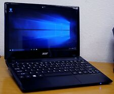 "Acer Travelmate B113 11.6"" Netbook i3 Laptop, Windows 10, 320GB,WiFi, DuoCore"