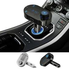 In-Car Bluetooth Wireless FM Transmitter USB Charging Music Mp3 for Iphone 6s 5s