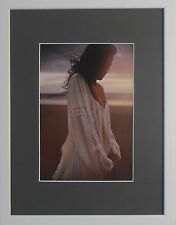 "Mounted and Framed Fine Art Nude Female David Hamilton - 12'' x 16"" - Ref 2"