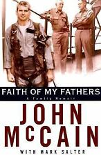G, Faith of My Fathers, John Mccain, Mark Salter, 0375501916, Book