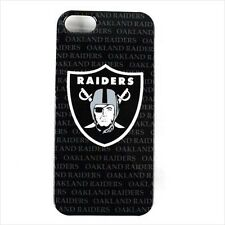 For Apple iPhone 5 Case Cover Electronic iP5 Case for NFL Oakland Raiders