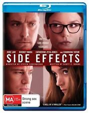 Side Effects (Blu-ray, 2013) Movie, Like New