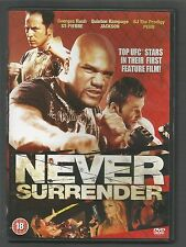 NEVER SURRENDER - Georges Rush St-Pierre - UK REGION 2 DVD - with top UFC stars