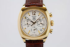 TAG Heuer Monza Chronograph 18K Yellow Gold Automatic Watch CR514A