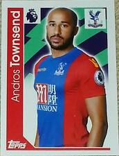 78 Andros Townsend CRYSTAL PALACE 2016/2017 Topps Merlin Premier League sticker