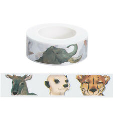 15mmx10m Animals Washi Tape DIY Scrapbooking Sticker Masking Tape,1pcs