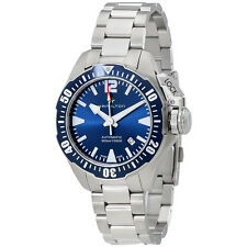 Hamilton Khaki Navy Frogman Automatic Blue Dial Mens Watch H77705145