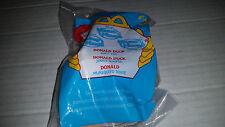 McDonald's House of Mouse #3 Donald Duck Poseable Soft Toy NIB 2001
