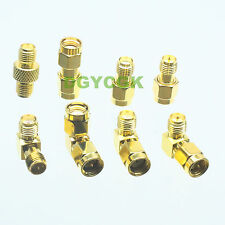 8pcs/set Adapter RPSMA~SMA female F male M Kit connector for Communication