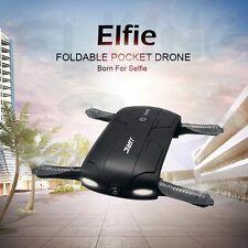 Foldable 6-Axis ELFIE Quadcopter WIFI 720P FPV 3 Battery Camera Drone JJRC