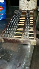 ANTIQUE OLD CHINESE TAIPEI INDUSTRIAL CO. LTD CALCULATION TOOL VINTAGE ABACUS
