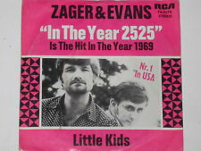 """ZAGER & EVANS -In The Year 2525- 7"""" 45"""