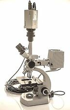 Carl Zeiss Microscope w/ Sony 3CCD DXC-960MD Camera 46 63 00 * 46 72 59 * HRP060