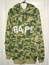 BAPE BATHING APE CAMO HOODY HOODIE HOODED SWEATSHIRT 3XL XXXL