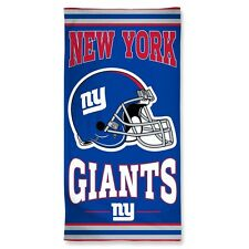 New York Giants Beach Towel [NEW] NY NFL Blanket Vacation Summer Pool CDG