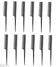 """Diane 50 RAT TAIL HAIR STYLING COMB 8""""  (12 COMBS)"""