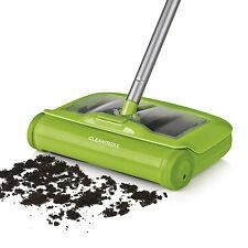 CLEANmaxx Bodenkehrer Swivel Sweeper Reinigungstuch 2in1 Besen limegreen Akku