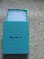 Tiffany and co empty blue box