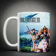 Final Fantasy 7 - Mug Tasse Cafe - 325 Ml - Cloud Aeris Tifa Barret Vincent...