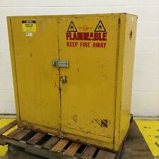 Justrite Flammable Liquid Storage Cabinet RM-8360 Used #68135