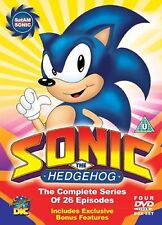 Sonic The Hedgehog - SatAM Sonic - The Complete Series - 4DVD BOXSET - BRAND NEW