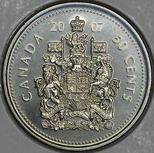 CANADA 50 CENTS 2007 Logo in MS
