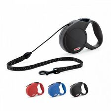 Flexi Classic M Retractable Dog Lead Red Cord 8m