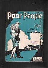 Poor People 1928