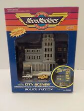 Micro Machines Police Station City Scenes New 1992 MISB Galoob