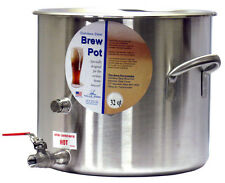 8 Gallon Stainless Homebrew Kettle Stock Pot