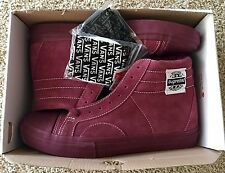 Vans X Supreme Native American Red Burgundy size 8 Golf Wang Syndicate wtaps