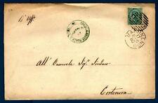 ITALIA - Regno - 1880 - Da Martinengo a Cortenova - Effigie di Umberto I° -