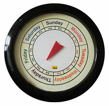 Analogue AM PM Day Clock By Find For Orientation Dementia Care/Hospital Setting