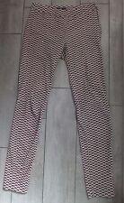 Pantalon imprimé géométriques Marque H&M Taille 34 ou Petit 36 en TBE