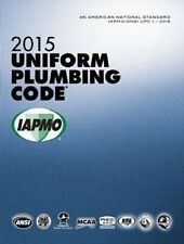 2015 Uniform Plumbing Code Book in Loose Leaf - New