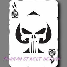 Punisher Ace Of Spades Playing Card Phone Car Yeti Decal Sticker