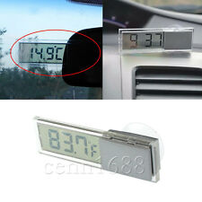 universal Car Indoor Room LCD Digital Display Meter Thermometer with Suction Cup